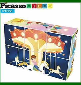 PicassoTile 6pc Magic Puzzle