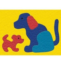 LAURI Crepe Rubber Puzzle - Dog