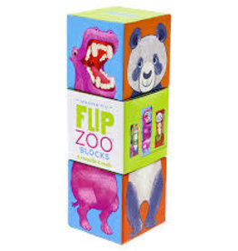 Crocodile Creek Flip Zoo Magnetic Puzzle/World Animals