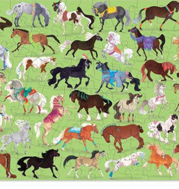 Crocodile Creek 100pc 36 Animal Puzzle/ Horses NEW!
