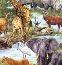 Springbok 60 pc Animal Kingdoms