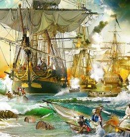 Ravensburger 5000 pc Battle on the High Seas