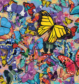Springbok 500 pc Butterfly Frenzy