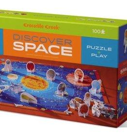 Crocodile Creek 100 PC Discover Puzzle/Space -