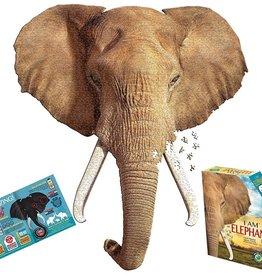 Madd Capp Puzzles 550 pc Madd Capp Puzzle - I AM Elephant