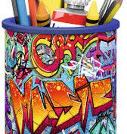 Ravensburger 54 pc Puzzle Pencil Holder -  Grafitti