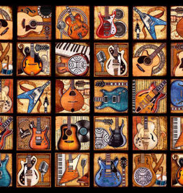Springbok 2000 pc Six String Symphony