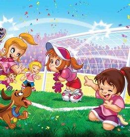 EuroGraphics Soccer - Go Girls Go! 100 pc