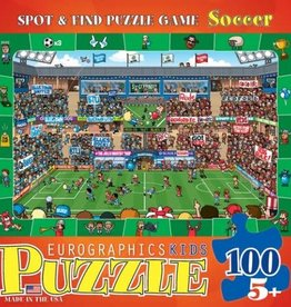 EuroGraphics 100 pc Soccer - Spot & Find