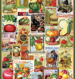 EuroGraphics 1000 pc Vegetables - Seed Catalogue