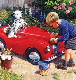 SunsOut 1000 pc Washing the Car