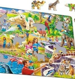 Larsen 48 pc Zoo Animals Puzzle
