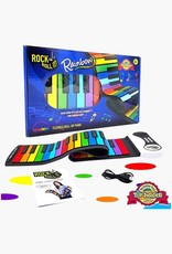 Mukikim Flexible Roll Up Piano - Rainbow