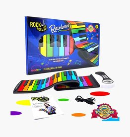 Mukikim Rock 'n' Roll It - Roll Up Piano - Rainbow