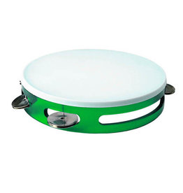 1st Note Colored Tambourine Green
