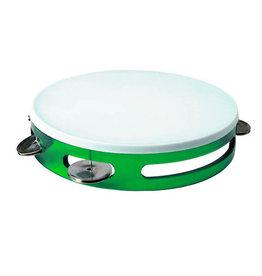 1st Note Tambourine Green