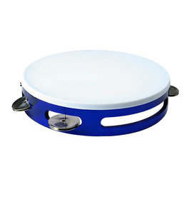 1st Note Colored Tambourine Blue
