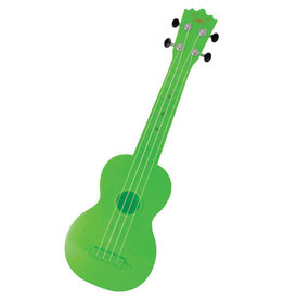 1st Note Plastic Soprano Ukulele Green