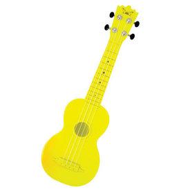 1st Note Plastic Soprano Ukulele Yellow
