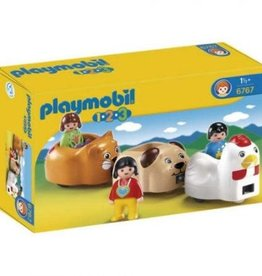 Playmobil 123 1.2.3 Animal Train 6767