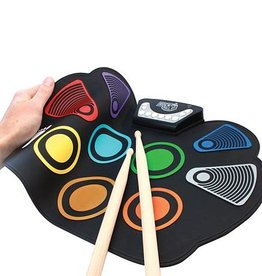 Mukikim Flexible Roll Up Drum - Color Coded