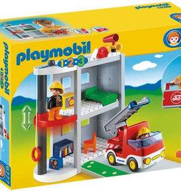 Playmobil 123 1.2.3 Take Along Fire Station 6777