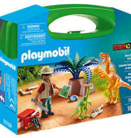 Playmobil Dino Explorer Carry Case 70108