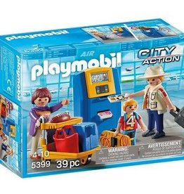 Playmobil Family at Check-In
