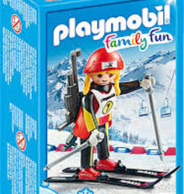 Playmobil Female Biathlete 9287