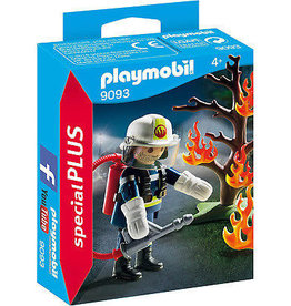 Playmobil Firefighter with Tree 9093