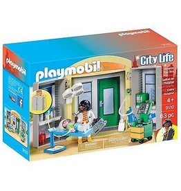 Playmobil Hospital Play Box 9110