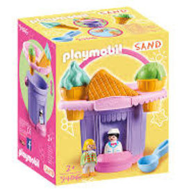 Playmobil 123 Ice Cream Shop Sand Bucket 9406