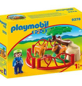 Playmobil 123 Lion Enclosure 9378