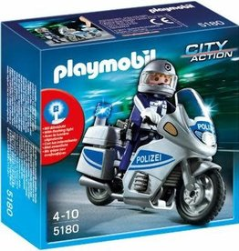 Playmobil Police Motorcycle (int) 5185