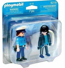 Playmobil Policeman and Burglar 9218