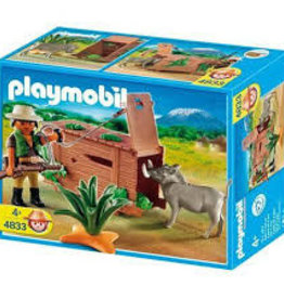 Playmobil Ranger with Warthog 4833