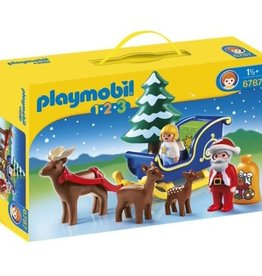 Playmobil Santa Claus with Reindeer Sleigh