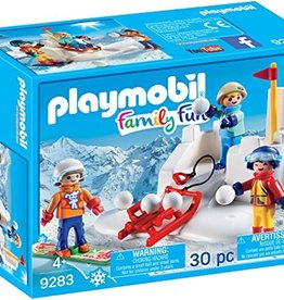 Playmobil Snowball Fight 9283