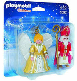 Playmobil St. Nicholas and Christmas Angel