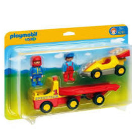 Playmobil 123 Tow Truck with Race Car 6761