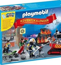 Playmobil Advent Calendar 'Fire Rescue Operation
