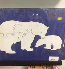 Bashor Blast Polar Bear and Cub Puzzle
