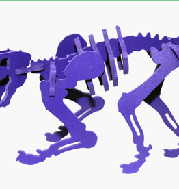 Boneyard Pets Smilodon 3D Puzzle Purple - minature