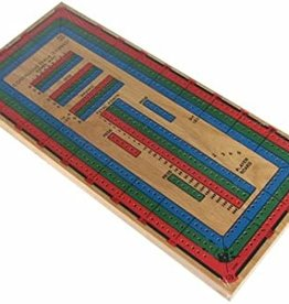 John Hansen Cribbage Large 4 Colors