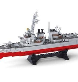 Sluban Naval Destroyer (615 pieces)