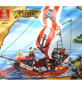 "Sluban Pirate Ship ""Revenge Queen"" (375 pieces)"