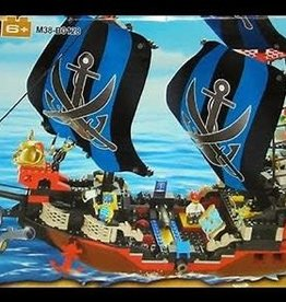 "Sluban Pirate Ship ""Cruco"" (512 pieces)"