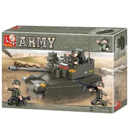 Sluban Army Tank (224 Pieces)