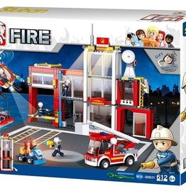 Sluban Fire Department Set (612 pieces)