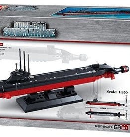 Sluban Naval Nuclear Submarine (193 pieces)